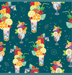 Pattern of fantastic summer vector