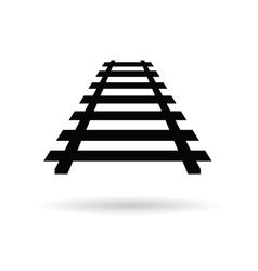 Rails black vector