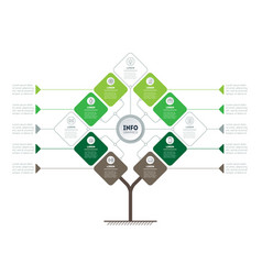 Timeline or infographics info graphic vector