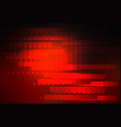 Red brown black glowing various tiles background vector