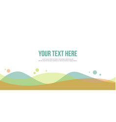 Style abstract background for header website vector