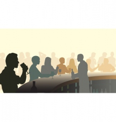 wine bar vector image