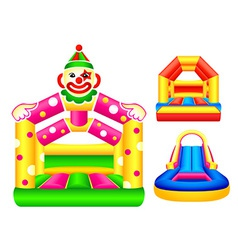 Bouncing castles vector
