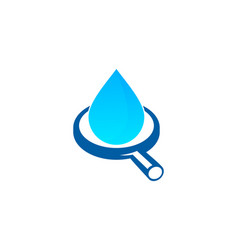 Browse water logo icon design vector