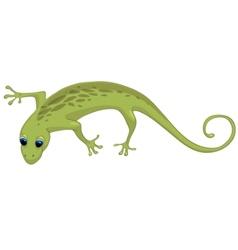 cartoon character lizard vector image