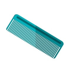 hair comb icon vector image