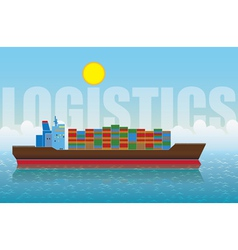 logistics vector image
