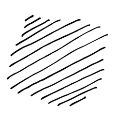 Pencil Hand Drawn Doodle Background vector image