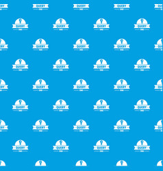 Query pattern seamless blue vector