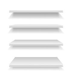 shelves 02 vector image