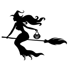 witch beauty vector image