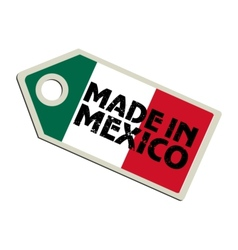 Made in Mexico vector image