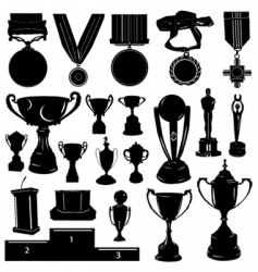 sports reward vector image vector image