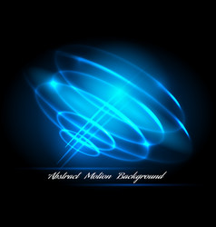 whirlpool lighted lines abstract effects vector image