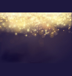 Bokeh shine light abstract elegant glow vector