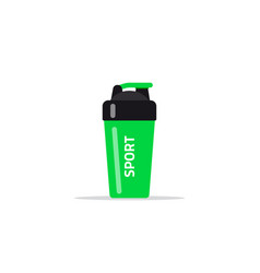 fitness shaker icon vector image
