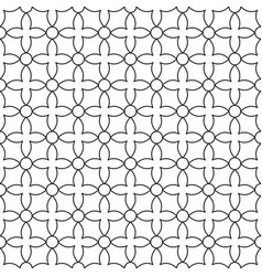 Seamless ornamental pattern - simple design vector
