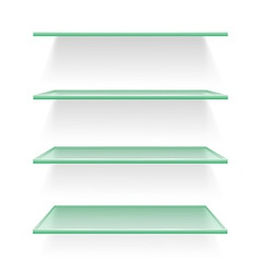 shelves 03 vector image