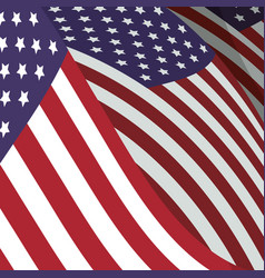 United states patriotic emblem vector