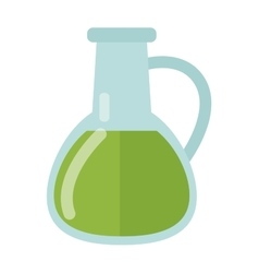 Carafe with liquid vector image