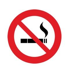 not smoke vector image