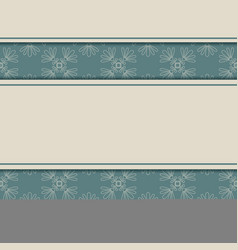 vintage background template for greeting vector image vector image