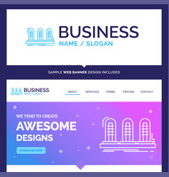Beautiful business concept brand name amplifier vector