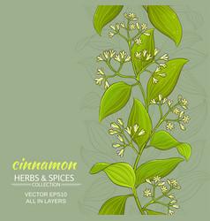 Cinnamon background vector