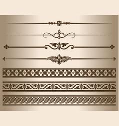 Decorative elements vector