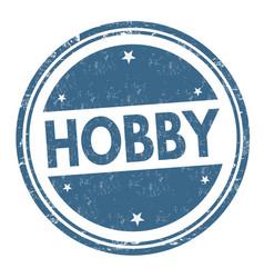 Hobsign or stamp vector