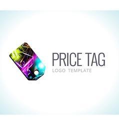 Logo Template Price tag vector