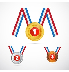 Medals Set vector image