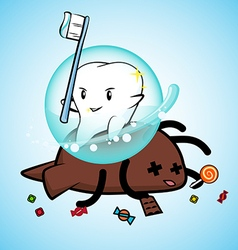 Tooth win pose vector