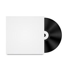 Vinyl Record in Envelope vector image