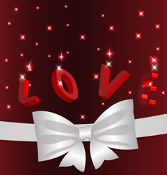 love concept background vector image