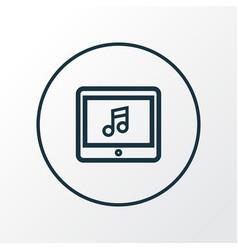 application icon line symbol premium quality vector image