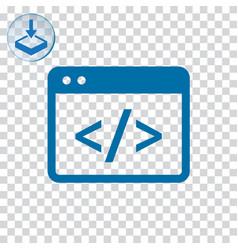Coding icon vector