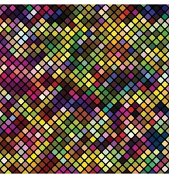 Colored squares abstract background vector image