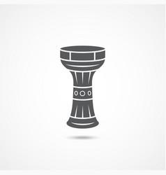 darbuka flat icon vector image
