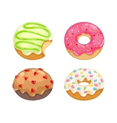 Donuts set vector