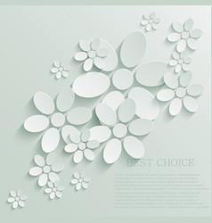 Flower background Eps10 vector