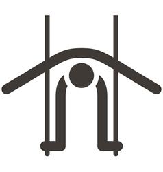 Gymnastics Artistic icon vector image