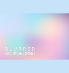 horizontal wide blue pink sky blurred background vector image