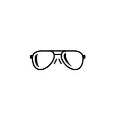 isolated eye accessory icon eye-wear vector image
