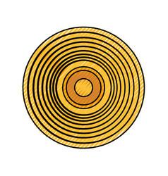 Music vinyl isolated vector