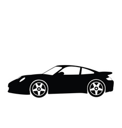 sport car 4 vector image