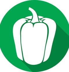Sweet Bell Pepper Icon vector image