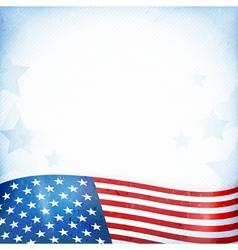 USA patriotic background vector image vector image