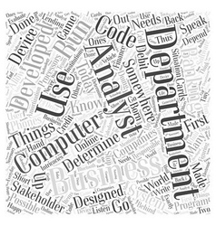 what is IT Word Cloud Concept vector image