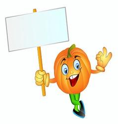 pumpkin boy vector image